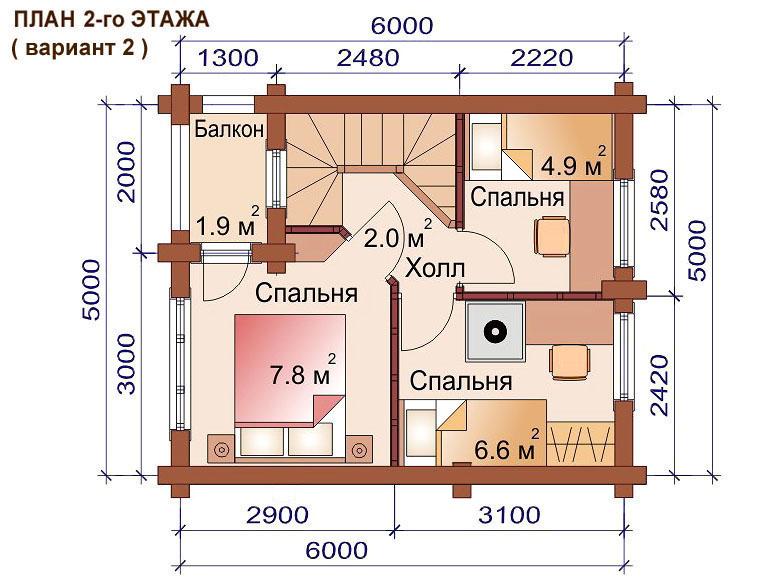 проекты деревянных домов бань в 2 этажа